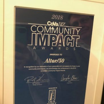 Altor Processing Wins Community Impact Award